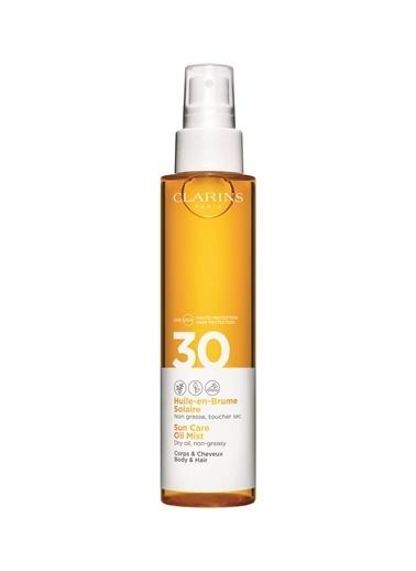 Clarins Sun Care Body Oil-İn-Mist Spf30 Vücut Yağı Renksiz